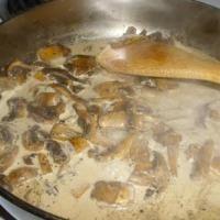 Cómo hacer salsa de champiñones