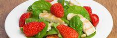 (Recipe) Strawberry-Chicken Salad with Pecans