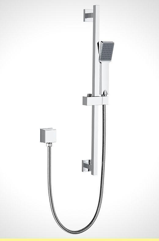 Rococo single function shower rail