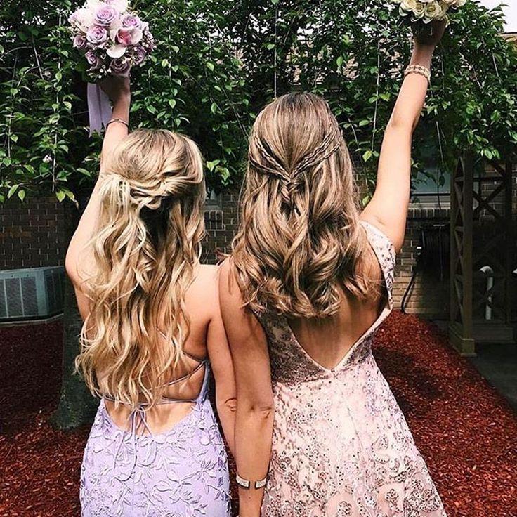 Abschlussball mit deinen besten Freunden # promdresses #partydresses #photography #bestfriendgo