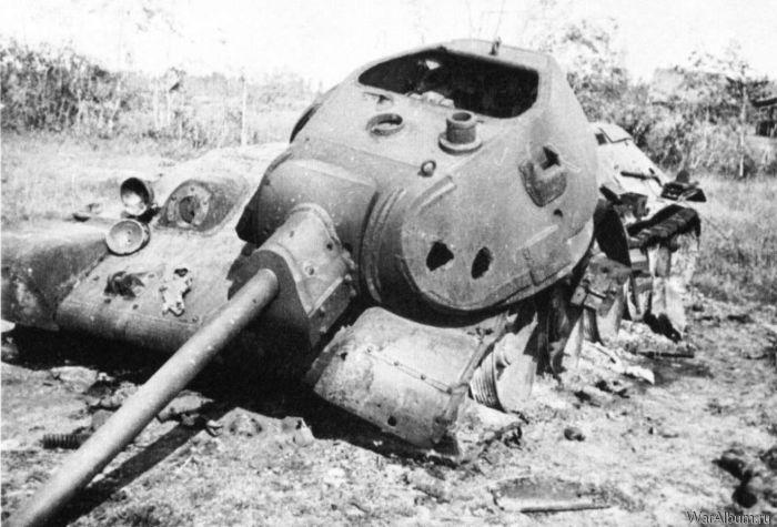 Уничтоженный Т-34