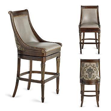 Kent Swivel Bar Height Bar Stool (30 H seat)  sc 1 st  Pinterest & 95 best Bar stools images on Pinterest   Bar stools Counter ... islam-shia.org