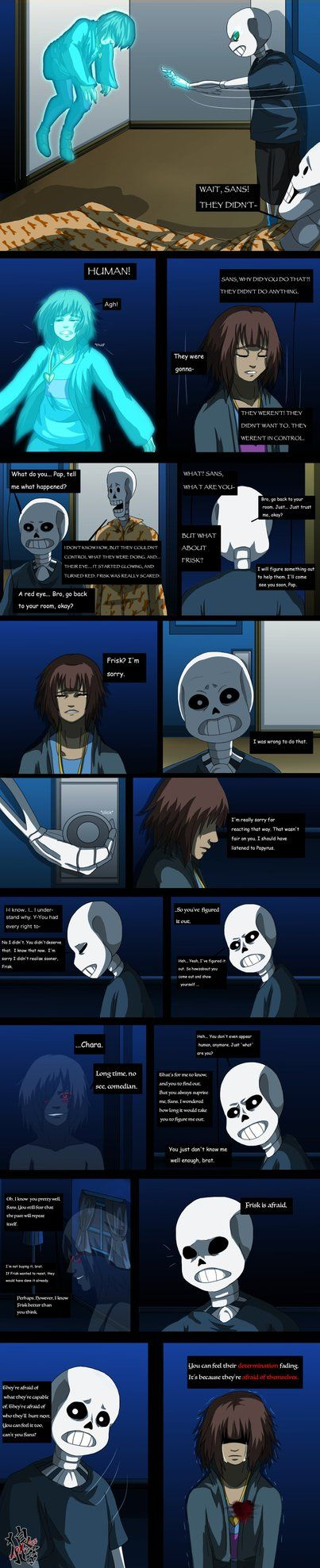 Did this comic cuz it sounded fun ^^ Dustale is an Undertale AU where Sans kills everyone to gain LV to kill the human. Read more here: www.reddit.com/r/Undertale/com… Dustale bel...