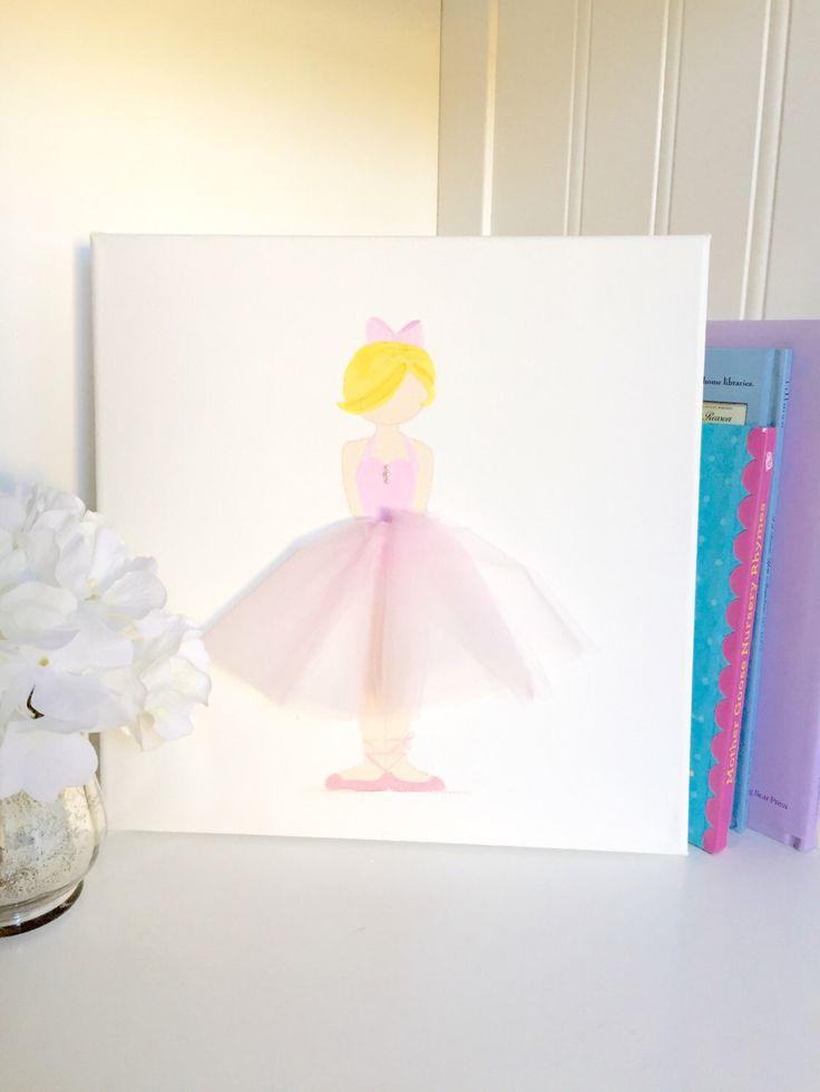 Best Ballerina Decor Images On Pinterest Nursery Decor - Light pink nursery decor