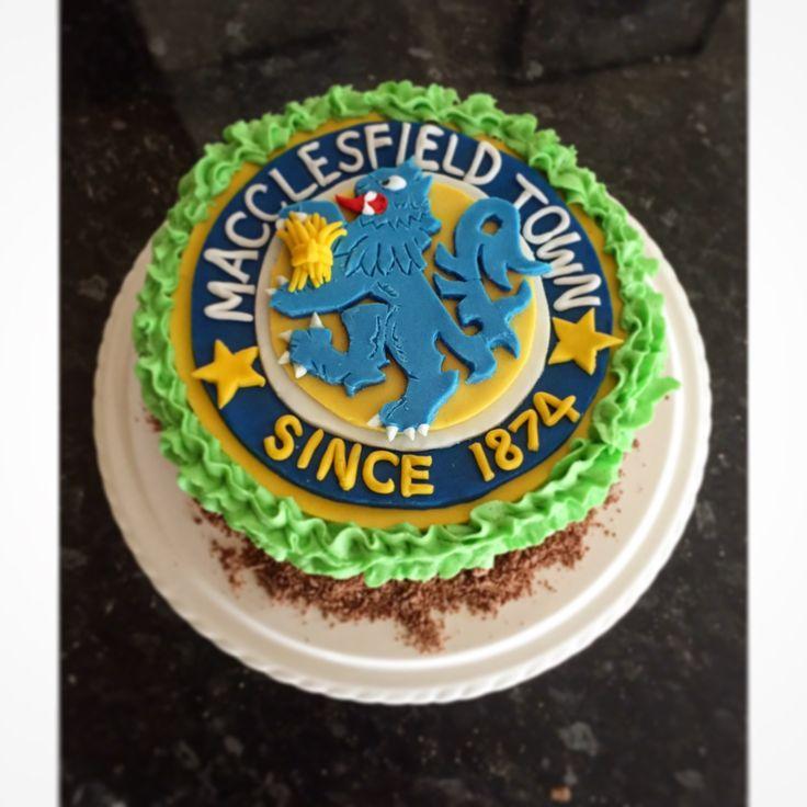 Macclesfield town birthday cake
