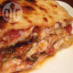 Lasagne sans pâtes à l'aubergine @ qc.allrecipes.ca