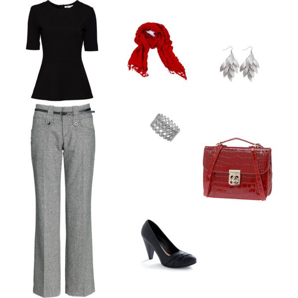 Professional Outfit, created by caitlinf824.polyvore.com