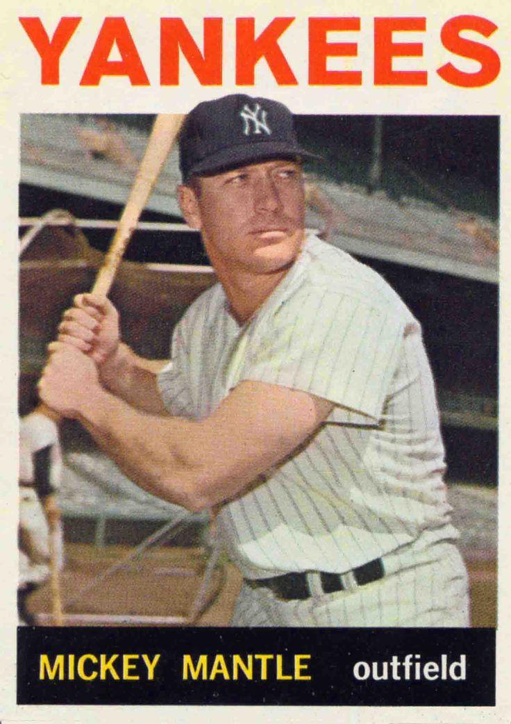 Mickey Mantle - NY Yankees - OF