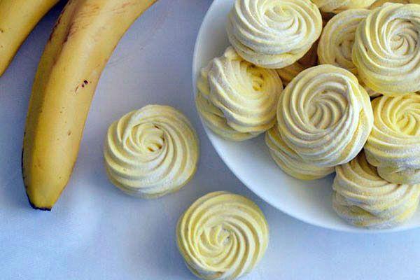 Рецепт бананового зефира