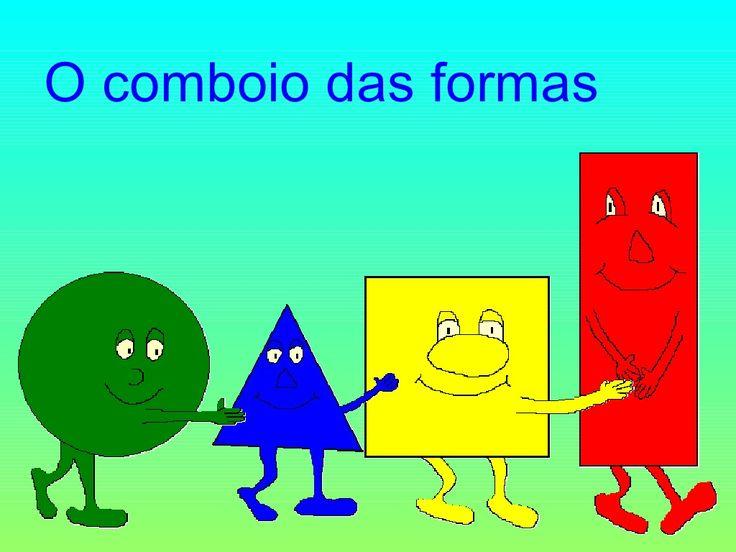 Formas geométricas by Eduanabela via slideshare                                                                                                                                                                                 Mais