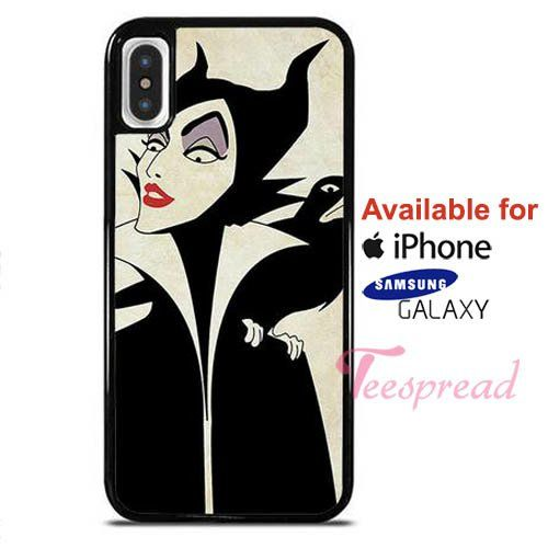 timeless design 51d8a d533c Disney Villain Maleficent iPhone X Cases, iPhone Cases, Samsung ...