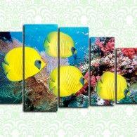 Жёлтые рыбки