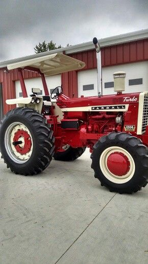 Antique International Tractor Wheel : Images about restored tractors on pinterest old