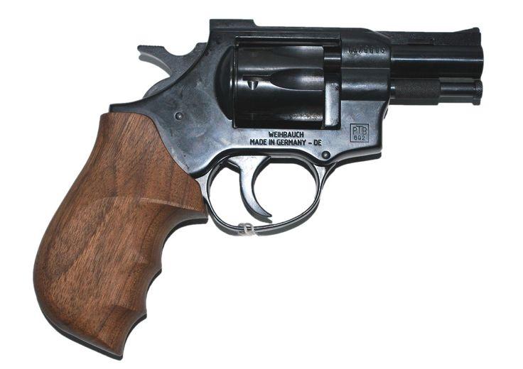 Большое второстепенное изображение Револьверы под Флобер Weihrauch Arminius HW4 2.5 чёрный дерево