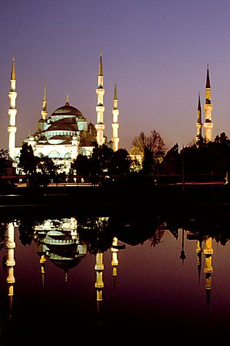 Blue Mosque at night, Istanbul, Turkey To book go to www.notjusttravel.com/anglia