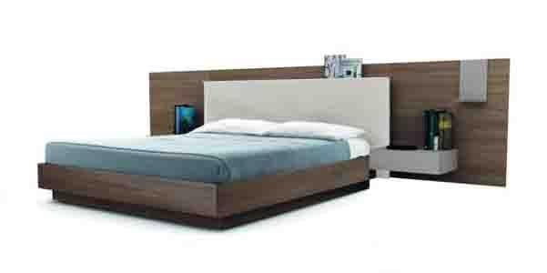 Il letto sommier Bed45 di Zalf Mobili