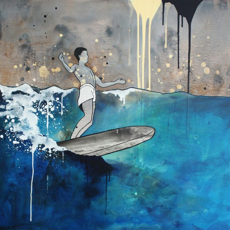 Surf art by Amanda Davidson Fathers day sale  25% off everything online. Ends tonight!! Use code FORDAD