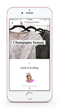 Blogger Story - iPhone Background