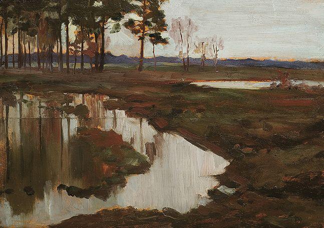 Wladyslaw Podkowinski Landscape, c. 1892