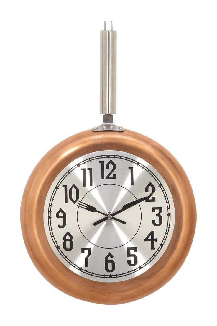 UMA Metal CPR Wall Clock