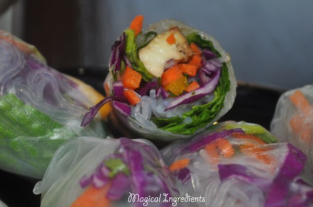 The Magical Ingredients for a Wholesome Life From the Heart of my Home: Vietnamese Summer Spring Rolls #eattheworld