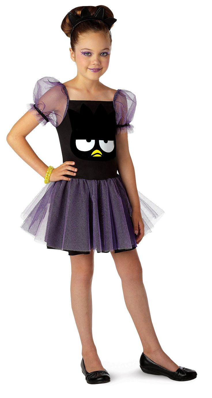 Hello Kitty Badtz Maru Kids Costume from BirthdayExpress.com