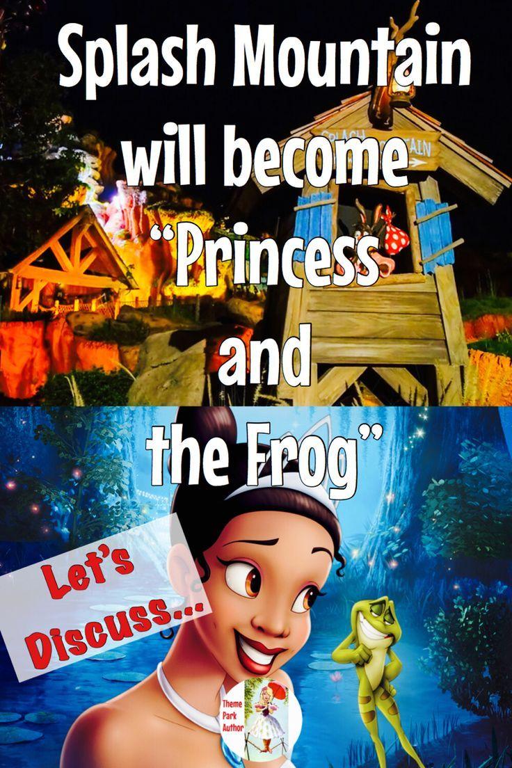 princess and the frog ride disneyland