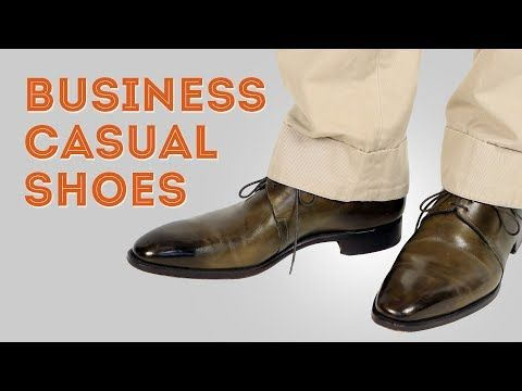 All about business casual shoes for different work settings