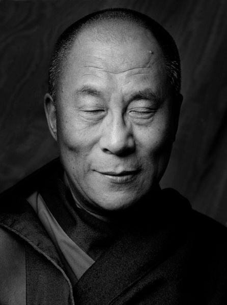 """""""There is no need for temples, no need for complicated philosophies. My brain and my heart are my temples; my philosophy is kindness."""" Dalai Lama"""