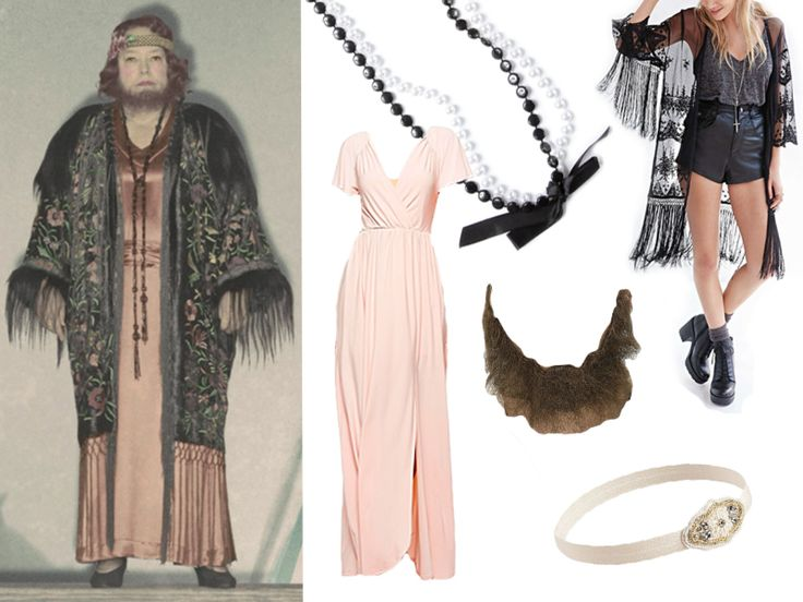 bearded lady costume - Buscar con Google