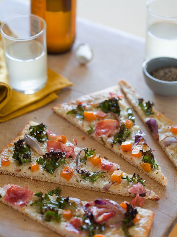 Proscuitto butternut squash pizza! Going to try this! Had it in a restaurant and it was amazing!