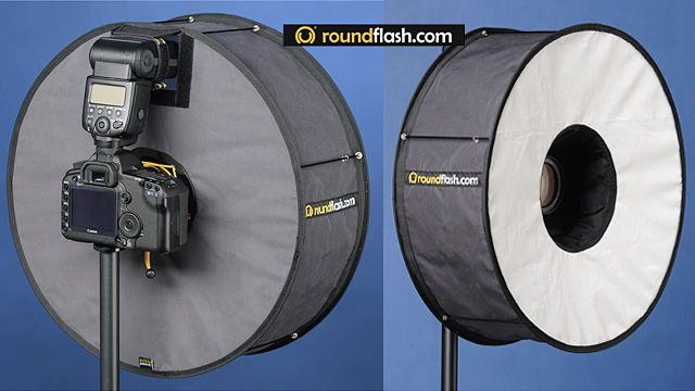 RoundFlash Soft Box Improves Your Portraits with a Donut Diffuser