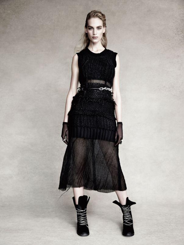 Vanessa Axente por Patrick Demarchelier para Vogue Espanha Dezembro 2014 [Editorial]