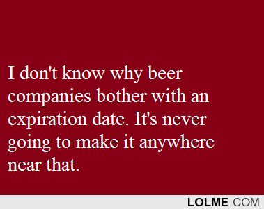Decode Beer Expiration dates | Need to remember (: | Pinterest