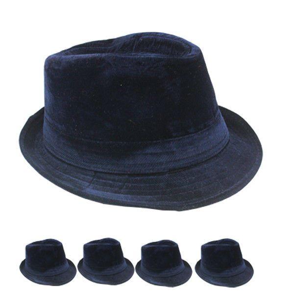Fedora Hat WINTER WOMEN MEN Wedding Dress Formal BLUE CAP FASHION  VALENTINES  Unbranded 983c55d6a