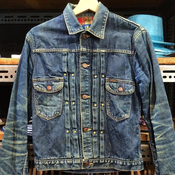 Wrangler Denim jacket #workwear #menswear #jeans #indigo #japan #mode #fashion #style #rugged