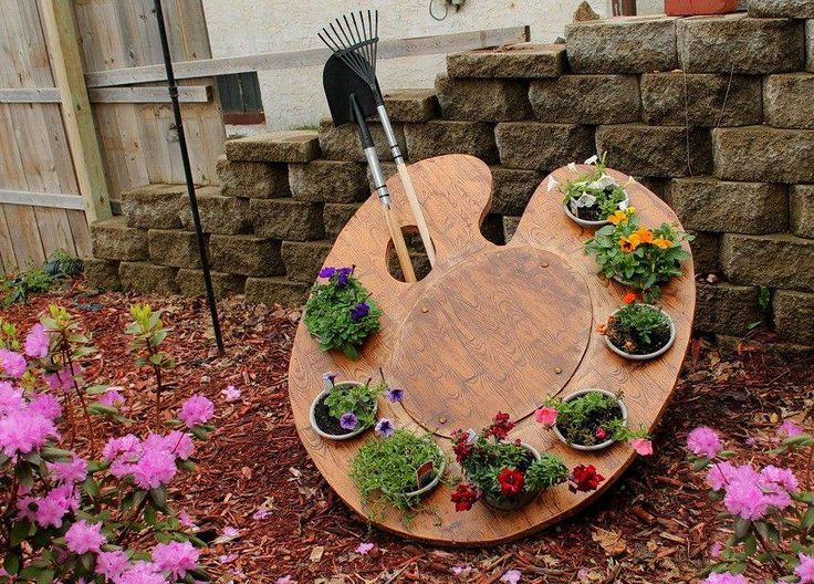 """Artist Easel Garden (maybe this should be """"pinned"""" under my Inspiring Art! :o)"""