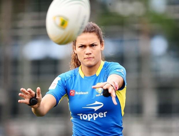 Beatriz Futuro rúgbi seleção (Foto: Marcos Ribolli)