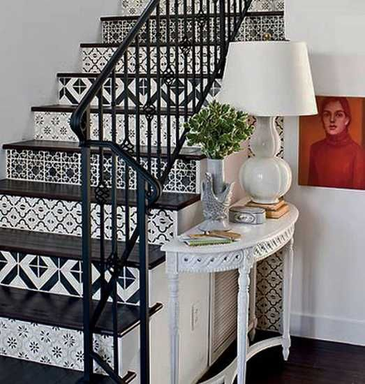 21 Staircase Decorating Ideas: 39 Best Painted Stairs Images On Pinterest