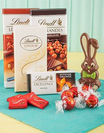 46 best easter eggs and gift hampers images on pinterest gift lindt chocolate easter hamper negle Images