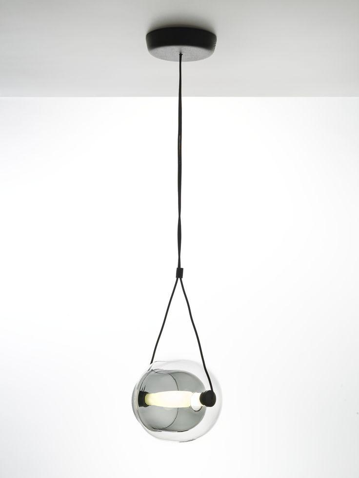 White Interior - Brokis lights - Capsula design by Lucie Koldova.
