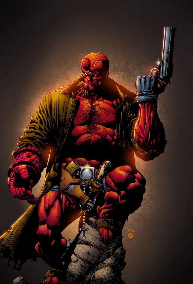 Hellboy by AlonsoEspinoza.deviantart.com on @DeviantArt