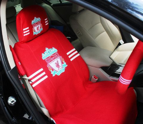 Liverpool car seat cover standard with head rest cover