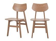 2 x Jacob, chaises, frêne naturel