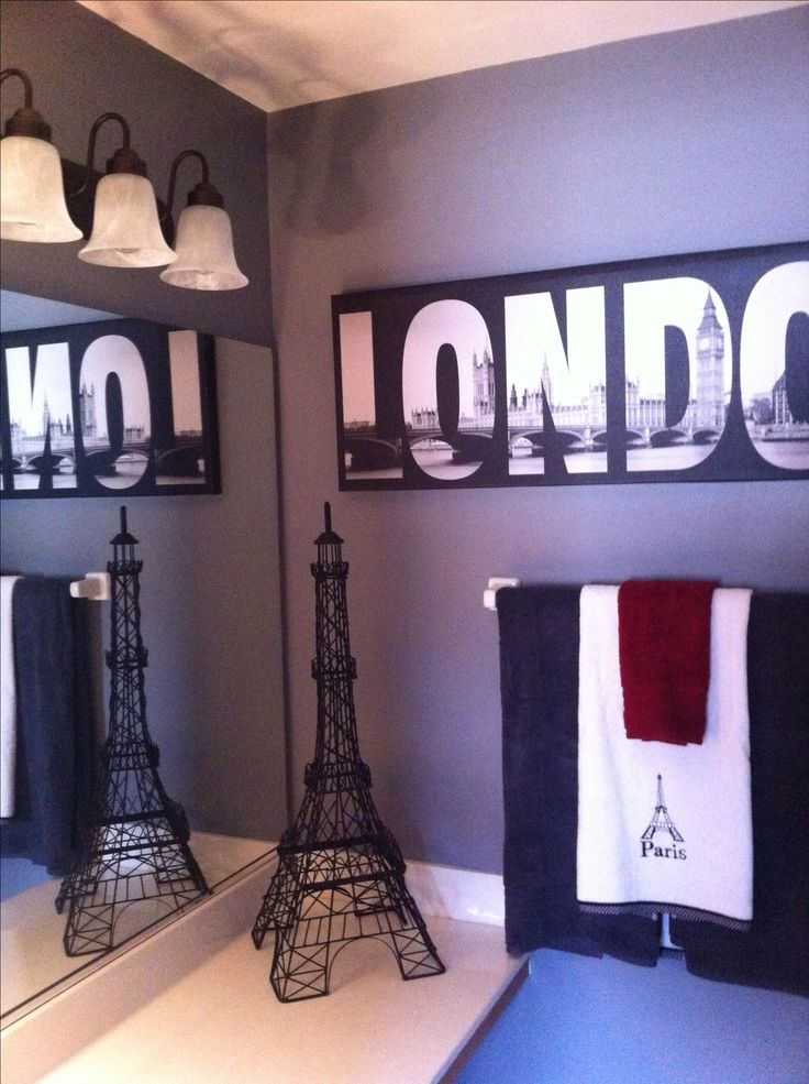 Best 25 paris theme bathroom ideas on pinterest paris bathroom paris bathroom decor and - Teenage bathroom decorating ideas ...