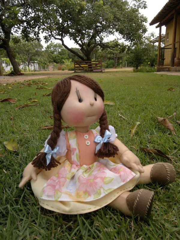 Bonecas artesanais estilo ONDORI.