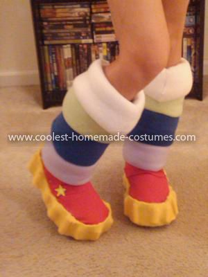 Coolest Homemade Rainbow Brite Costume 32: I debated a long time with what to be this year...and finally picked after my husband decided he was going to be Optimus Prime. I picked Rainbow Brite