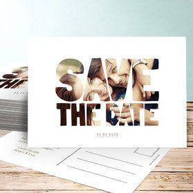 Save the date Karten für Ihre Hochzeit
