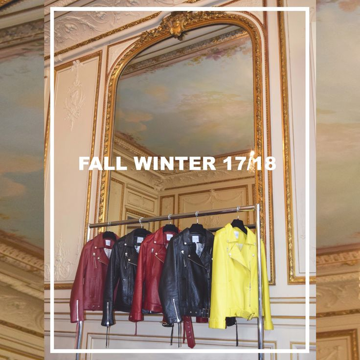 PARIS FASHION WEEK Discover ISAE Studio's Fall Winter 17/18 collection at AMF Showroom. Luxury leather bikers jackets made in France