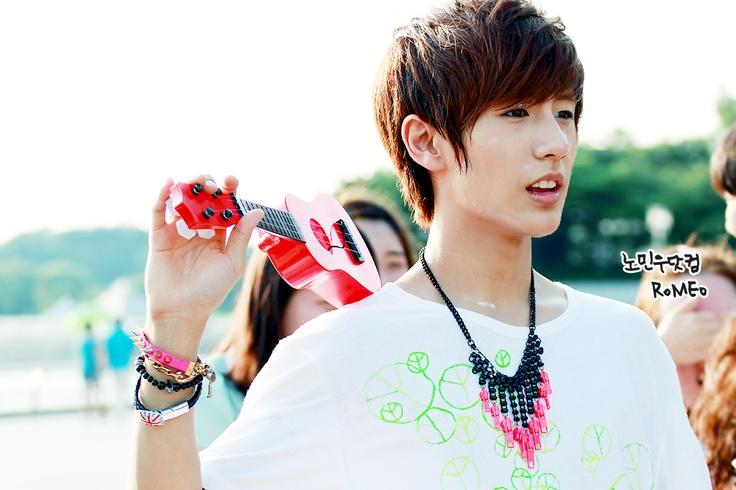 No Minwoo from Boyfriend